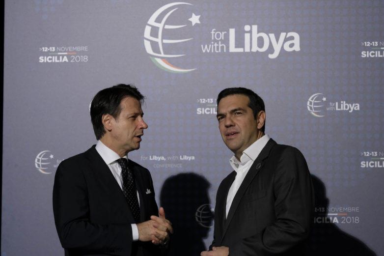 Στη Διεθνή Διάσκεψη για τη Λιβύη ο Τσίπρας – Συνάντηση με Κόντε