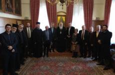 Συνάντηση Συγγραφικών Ομάδων για την Εκκλησιαστική Εκπαίδευσημε τονΑρχιεπίσκοποΙερώνυμο