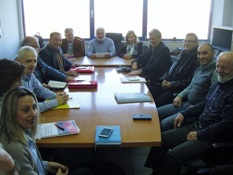 Σύσκεψη Αποκεντρωμένης Διοίκησης Θεσσαλίας – Στερεάς Ελλάδας με εκπροσώπους του ΟΠΕΚΕΠΕ