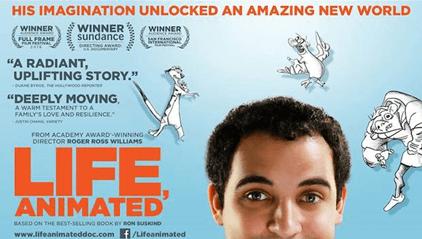 Tο υποψήφιο για Όσκαρ ντοκιμαντέρ «Ζωή σαν Κινούμενο Σχέδιο»  στο Αχίλλειον