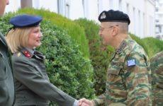 Επισκέψεις σε  Σχηματισμούς και Υπηρεσίες του Στρατού Ξηράς στη Θεσσαλία έκανε ο αρχηγός ΓΕΣ
