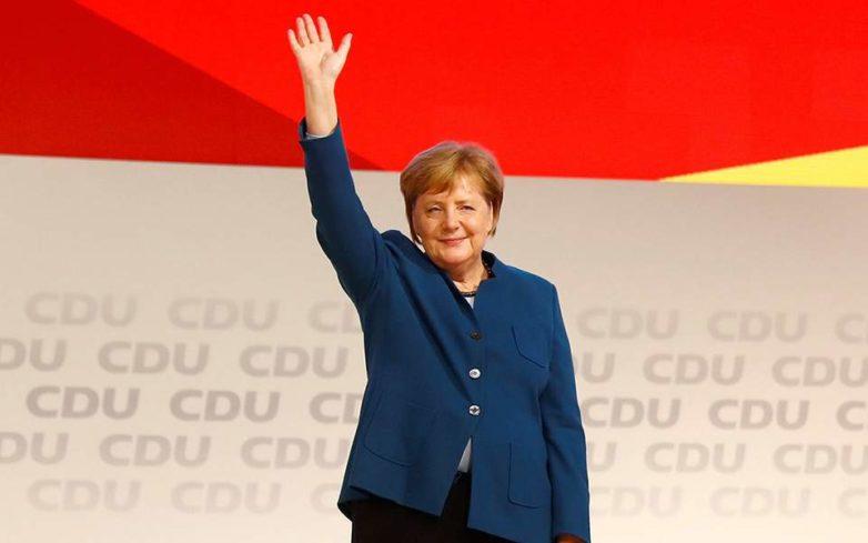 Το καρφιά και το αντίο της Μέρκελ στο συνέδριο του CDU: «Ήταν χαρά και τιμή μου»