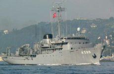 «Περιοδεία» Τούρκων στο Αιγαίο με Τσεσμέ και πολεμικά πλοία
