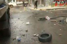 Βομβαρδισμένο τοπίο το κέντρο της Αθήνας