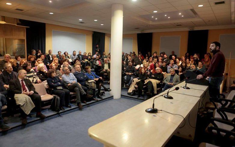 Ο Νάσος Ηλιόπουλος υποψήφιος του ΣΥΡΙΖΑ για τον Δήμο της Αθήνας