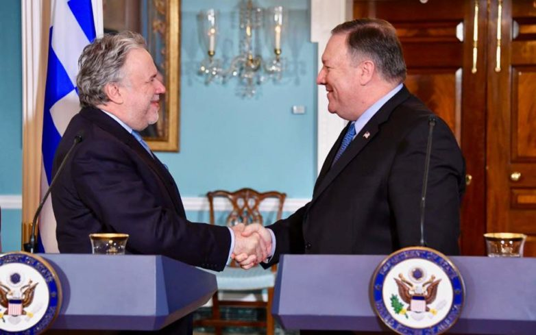 Ελλάδα – ΗΠΑ: Αμοιβαία δέσμευση για εμβάθυνση της συνεργασίας