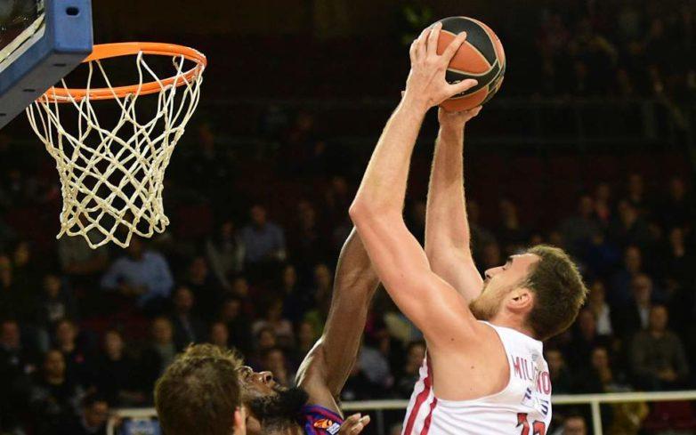 Ο Ολυμπιακός νίκησε με 69-60 την Μπαρτσελόνα