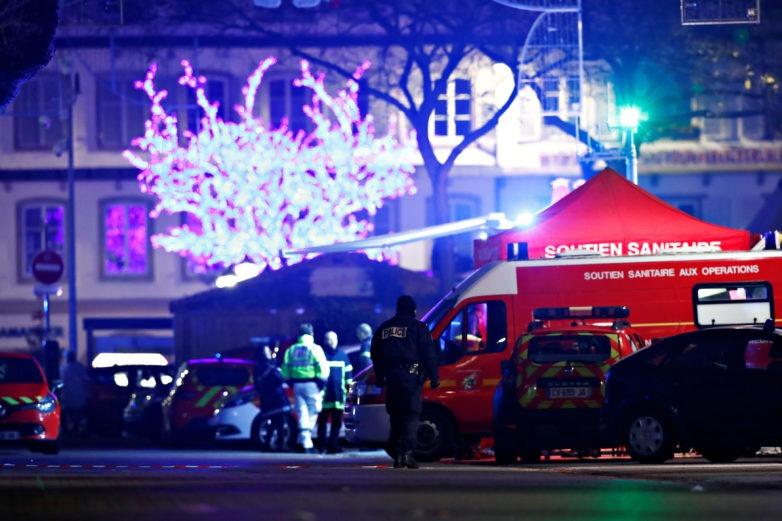 Ανθρωποκυνηγητό για τον δράστη της επίθεσης στο Στρασβούργο