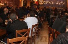 Εκδήλωση της Χ.Α. στο Βόλο