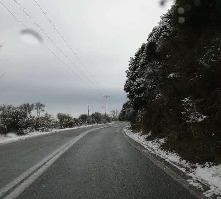 Έπεσαν τα πρώτα χιόνια