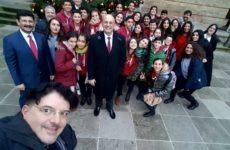 Παγκόσμιες ευχές και επικοινωνία μαθητών και εκπαιδευτικών του 30ου Δ.Σ. Βόλου