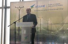 Γ. Σταθάκης στην κοπή πίτας του ΔΕΔΔΗΕ: Η Ελλάδα έχει μακρόπνοο εθνικό ενεργειακό σχεδιασμό