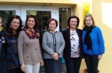 Επίσκεψη υφυπουργού Εσωτερικών  Μ. Χρυσοβελώνη στο Ορφανοτροφείο Θηλέων «Η ΜΕΛΙΣΣΑ»
