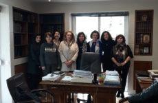 Συνάντηση υφυπουργού Εσωτερικών με γυναικείους συνεταιρισμούς Μαγνησίας