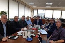Συνάντηση συντονιστών Αποκεντρωμένων Διοικήσεων με τον αναπληρωτή υπουργό Περιβάλλοντος & Ενέργειας Σωκρ. Φάμελλο