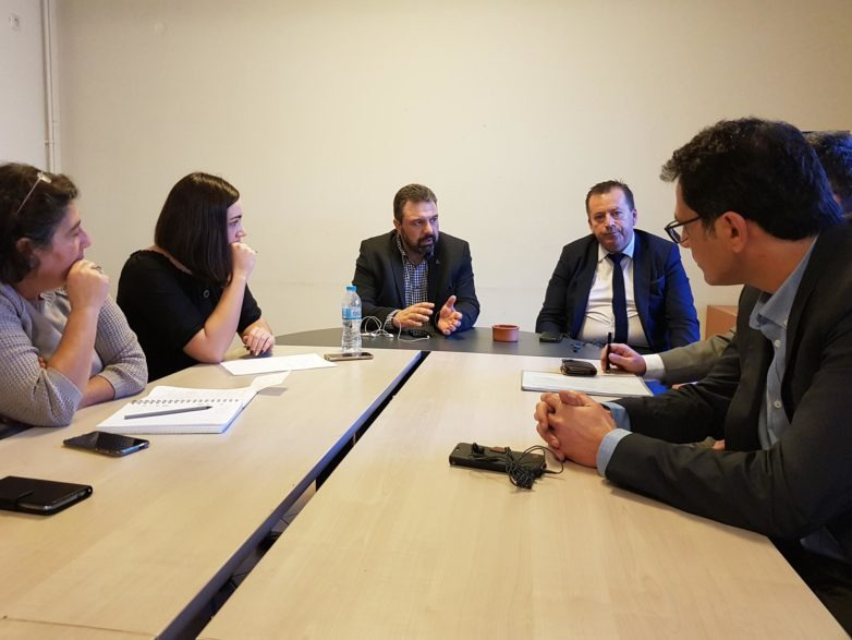 Συνάντηση ηγεσίας ΥΠΑΑΤ με τη διοίκηση του Συνεταιρισμού «Θεσγάλα»