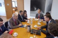 Συνάντηση Δ. Βίτσα με ΥΦΥΠΕΣ Γερμανίας S. Mayer