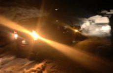 Εγκλωβισμός οδηγών στο «Δέλτα» Νεοχωρίου λόγω καθυστέρησης αποχιονισμού
