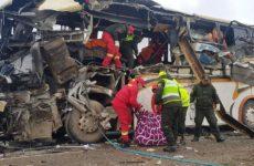 Βολιβία: 22 νεκροί και 37 τραυματίες μετά από σύγκρουση λεωφορείων