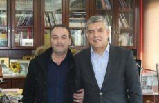 Συνάντηση περιφερειάρχη Θεσσαλίας Κ. Αγοραστού με εκπρόσωπο του Συλλόγου Σαρακατσαναίων Αλμυρού