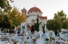 Θεία Λειτουργία και τις Κυριακές στο νέο Κοιμητηριακό ναό