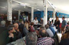 Eκδήλωση προς τιμήν των συνταξιούχων Φυσικής Αγωγής στην κοπή πίτας της Ε.Π.Φ.Α. Μαγνησίας