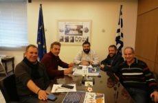 Συνάντηση Ένωσης Πτυχιούχων Φυσικής Αγωγής (Ε.Π.Φ.Α.) Μαγνησίας με τον υφυπουργό Αθλητισμού