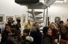 Επισκέψεις στο Χώρο Τέχνης «δ.»  μαθητών του Σχολείου Δεύτερης Ευκαιρίας  (ΣΔΕ) και της Ομάδας Τέχνης