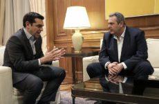 Την Παρασκευή η συνάντηση Τσίπρα – Καμμένου