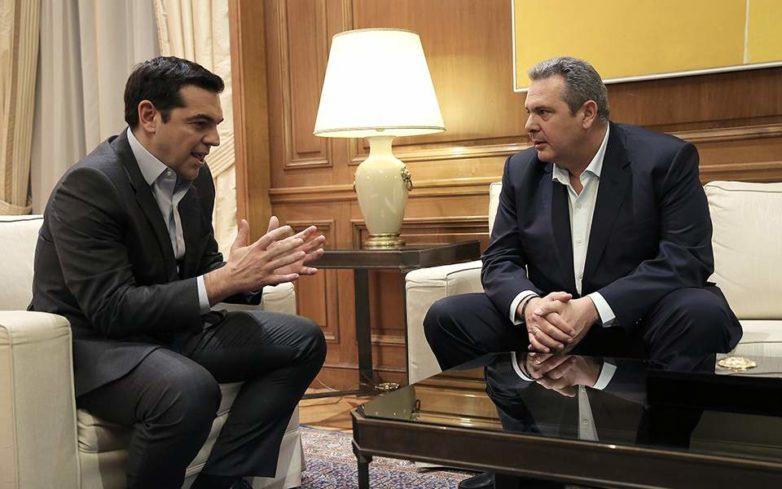 Κρίσιμη συνάντηση Τσίπρα-Καμμένου για το μέλλον της συγκυβέρνησης