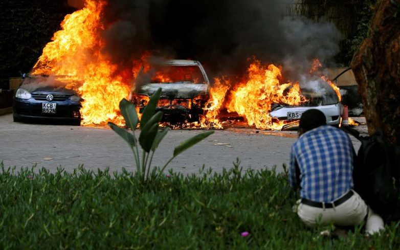 Tρομοκρατική επίθεση στο Ναϊρόμπι