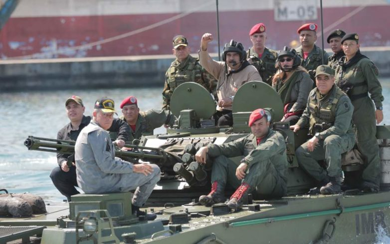 Με οικονομική ασφυξία απειλείται η κυβέρνηση Μαδούρο