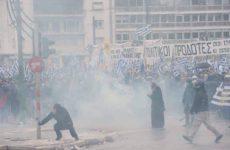 Αναφορά υπουργείου Υγείας για τους τραυματίες στο συλλαλητήριο