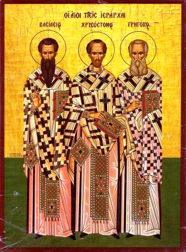 Μήνυμα της Ιεράς Συνόδου της Εκκλησίας της Ελλάδος  για τους Τρεις Ιεράρχες