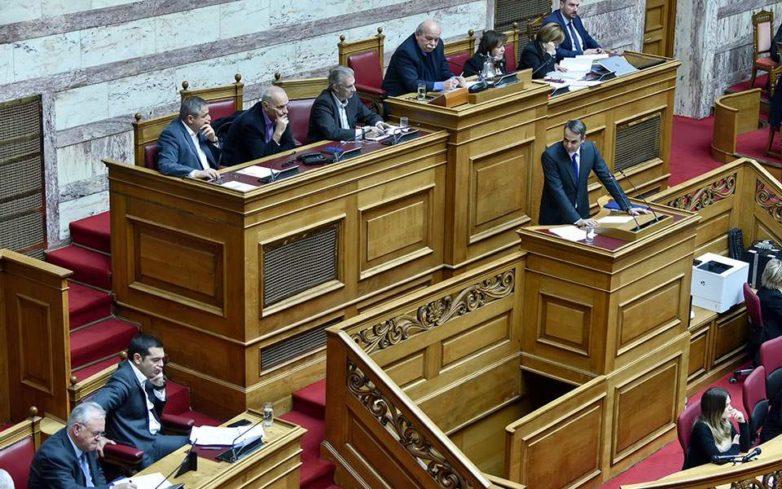 Τα μεσάνυχτα στη Βουλή η ψήφος εμπιστοσύνης