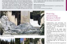 Αντίτυπα του ενημερωτικού εντύπου του ΥΠΠΟΑ για την Ελληνική Πολιτιστική Διαδρομή των Κοιμητηρίων