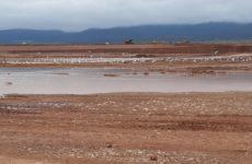 Με γρήγορους ρυθμούς προχωρά η κατασκευή της λιμνοδεξαμενής Ξηριά στον Αλμυρό