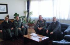 Επίσκεψη νέου διοικητή της 1ης Στρατιάς στoν συντονιστή Αποκεντρωμένης Διοίκησης Θεσσαλίας – Στερεάς Ελλάδας