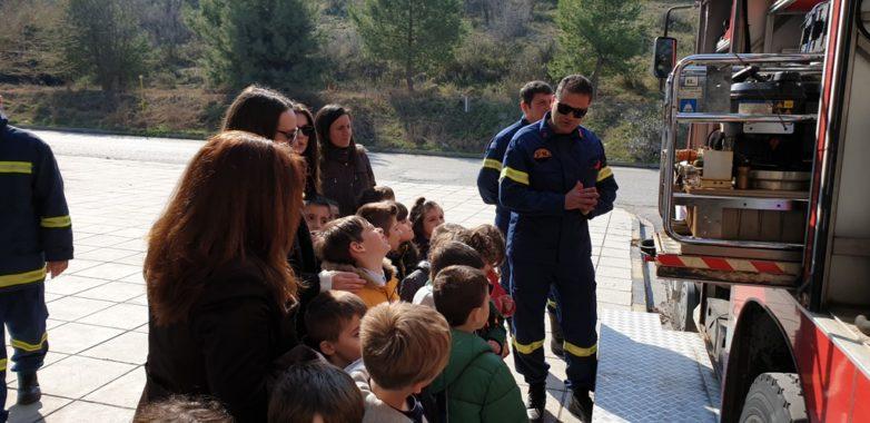 Εκπαιδευτική επίσκεψη του Νηπιαγωγείου της  Μητρόπολης στην Πυροσβεστική