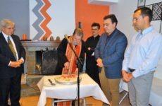 Κοπή Πρωτοχρονιάτικης πίτας του πολιτιστικού συλλόγου Αγίου Γεωργίου Νηλείας