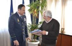 Επίσκεψη  Αρχηγού Τακτικής Αεροπορίας στoν συντονιστή Αποκεντρωμένης Διοίκησης Θεσσαλίας – Στερεάς Ελλάδας