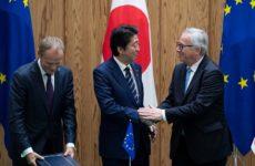 Σε ισχύ η εμπορική συμφωνία ΕΕ-Ιαπωνίας