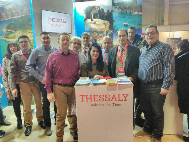 """Έντονη η τουριστική παρουσία της Περιφέρειας Θεσσαλίας στην έκθεση """"Holiday & Spa Expo"""" στη Σόφια"""