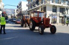 Mε παλμό το αγροτικό συλλαλητήριο στο Βόλο