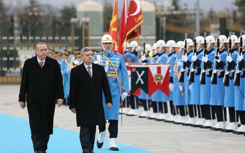 Ο πρόεδρος της ΠΓΔΜ συναντήθηκε με τον Ερντογάν