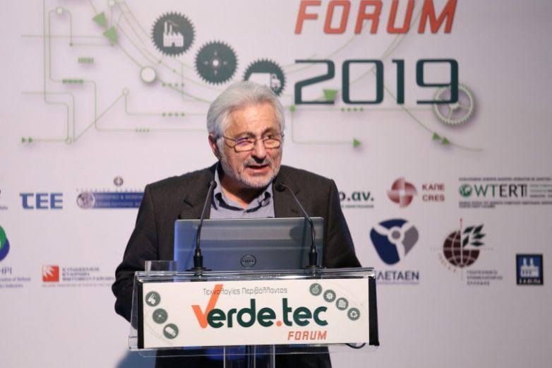 Ο συντονιστής Ν. Ντίτορας στην 3η Διεθνή Έκθεση Verde. Tec 2019 στην Αθήνα