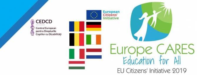 Europe CARES: Ποιοτική εκπαίδευση για παιδιά με αναπηρία χωρίς αποκλεισμούς