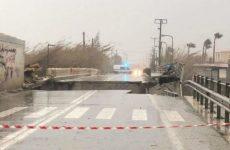 Καταστροφές στην Κρήτη από την κακοκαιρία