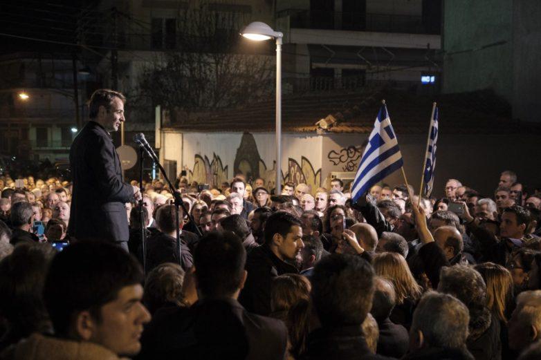 Μητσοτάκης: Κάποιοι Έλληνες αγωνίστηκαν για να παραμείνει η Μακεδονία σε ελληνικά χέρια