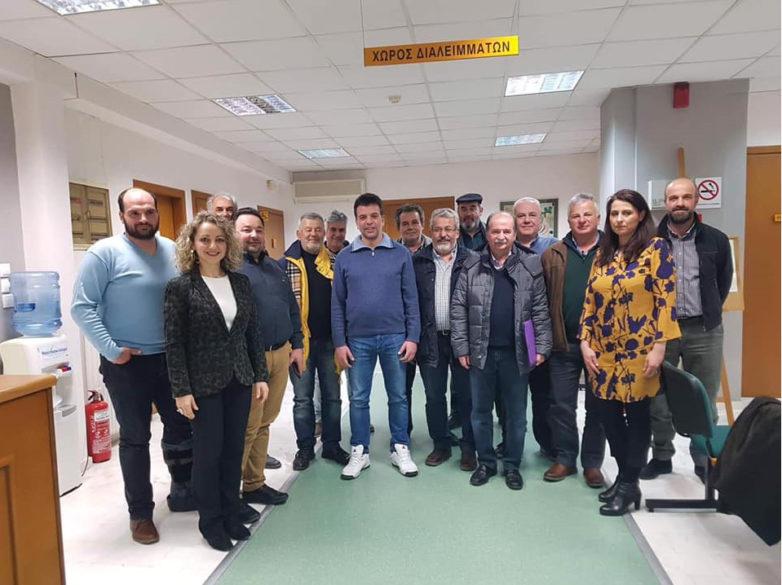 Συνάντηση Ομοσπονδιών των Νομών Λάρισας, Μαγνησίας Τρικάλων, Καρδίτσας και Φθιώτιδας στο ΙΜΕ ΚΕΚ ΓΣΕΒΕΕ Θεσσαλίας